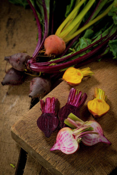 Beetroot Wall Art - Photograph - Heritage Beetroot by Aberration Films Ltd