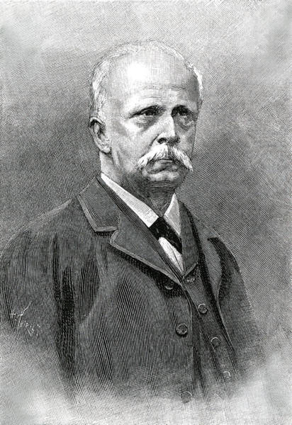 Wall Art - Drawing - Hermann Von Helmholtz  German by Mary Evans Picture Library