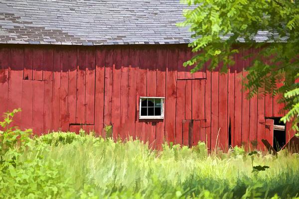 Photograph - Hidden Rustic Barn II by David Letts