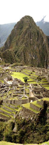 Cusco Photograph - High Angle View Of An Archaeological by Panoramic Images