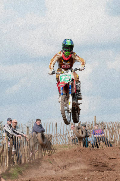 Dirtbike Photograph - High Leap by Roy Pedersen