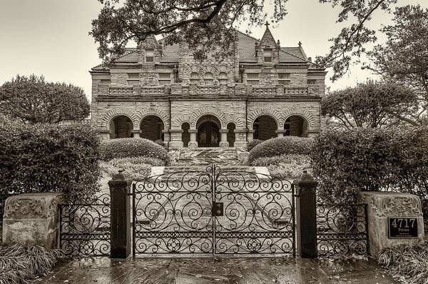 Charles Mansion Photograph - High Living In New Orleans Sepia by Steve Harrington