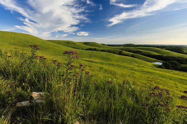 Photograph - Hillside Seat by Scott Bean