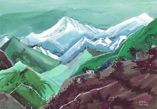 Painting - Himalaya 2 by Anil Nene