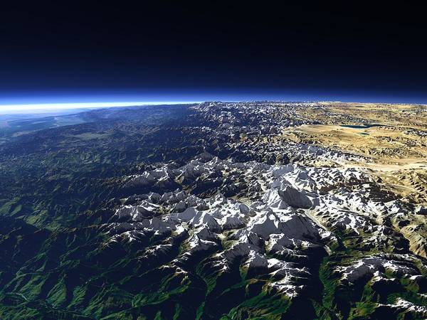 Wall Art - Photograph - Himalayas by Christoph Hormann/science Photo Library