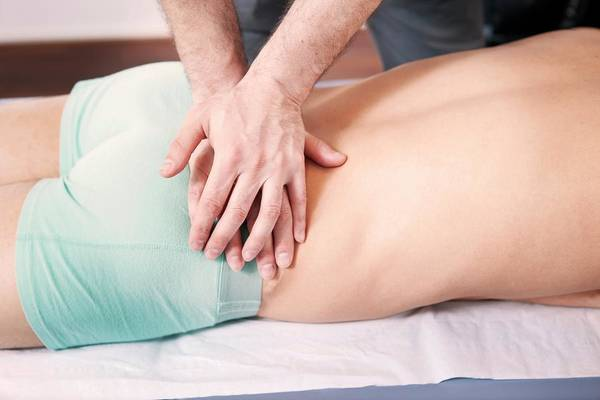 Therapy Photograph - Hip Injury Physiotherapy by Thomas Fredberg