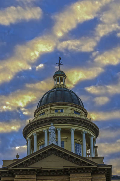 Photograph - Historic Auburn Courthouse by Sherri Meyer