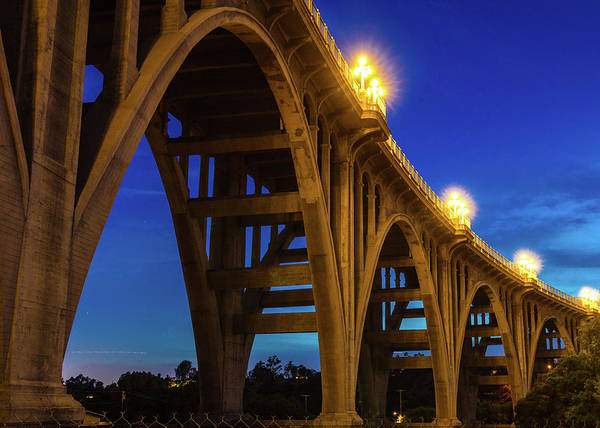 Historic Route 66 Photograph - Historic Colorado Bridge Arches by Panoramic Images