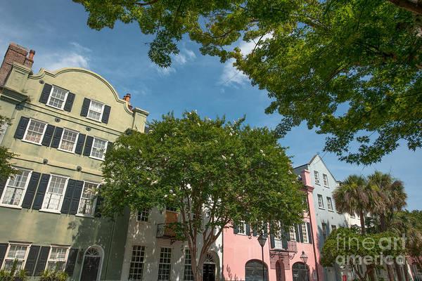 Photograph - Historic Rainbow Row - Charleston South Carolina  by Dale Powell