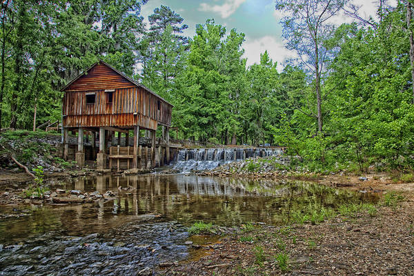Millrace Wall Art - Photograph - Historic Rikard's Mill In Virginia by Mountain Dreams