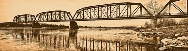 Photograph - Historical Kinsey Bridge by Leland D Howard