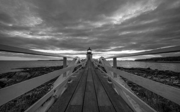 Marshall Point Lighthouse Photograph - Hit The Lights by Kristopher Schoenleber