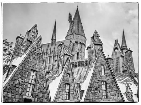 Hogwarts Wall Art - Photograph - Postcard From Hogsmeade by Edward Fielding