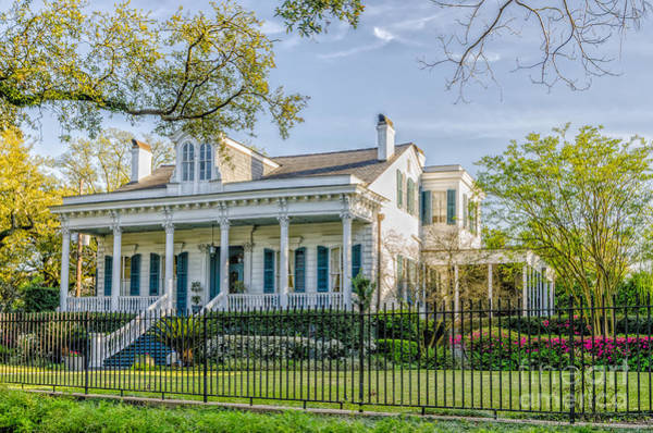 Charles Mansion Photograph - Home On St. Charles Ave - Nola by Kathleen K Parker