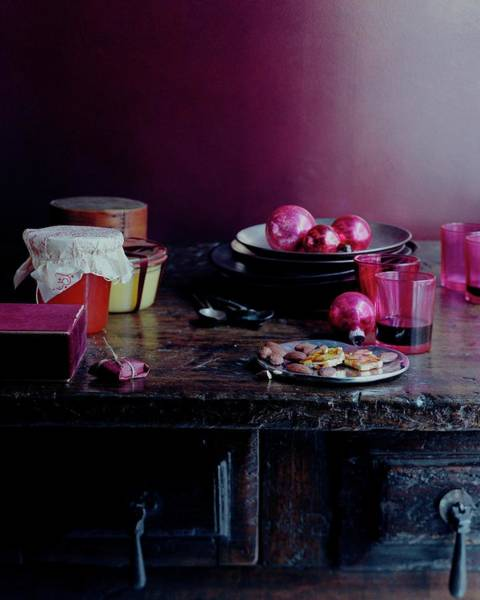 Plate Photograph - Homemade Gifts by Romulo Yanes