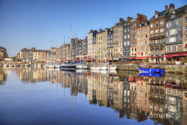 Editorial Photograph - Honfleur Normandy France by Colin and Linda McKie