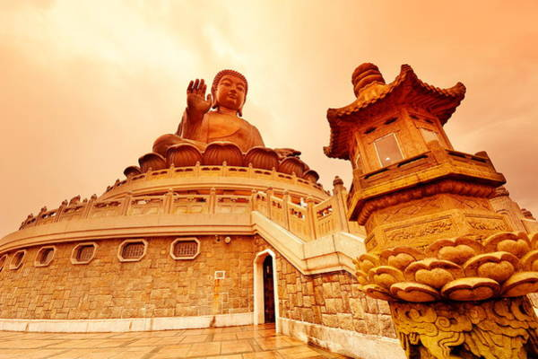 Photograph - Hong Kong Buddha by Songquan Deng