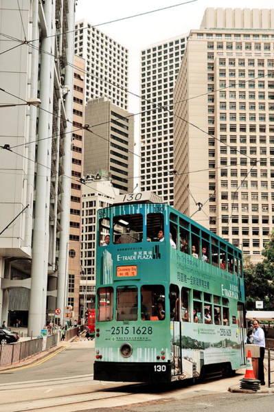 Photograph - Hong Kong Bus by Songquan Deng