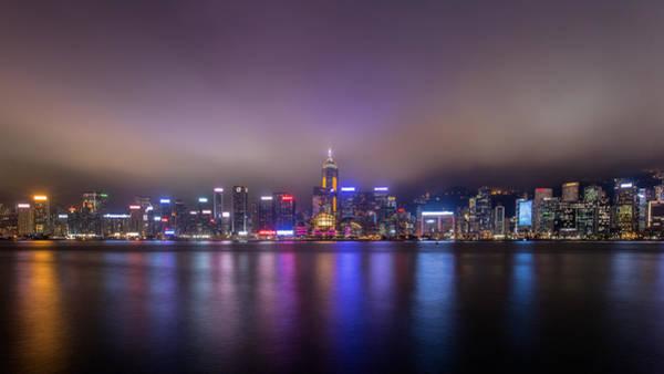 Hongkong Photograph - Hong Kong Magic Moment by Kam Chuen Dung