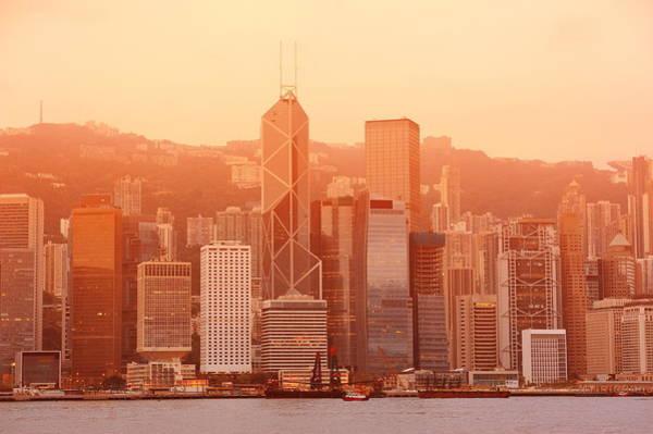Photograph - Hong Kong Morning by Songquan Deng