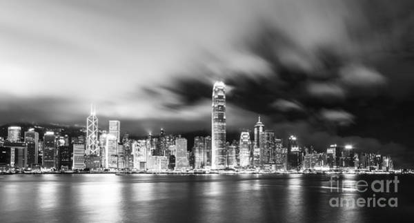 Photograph - Hong Kong Stunning Skyline by Didier Marti