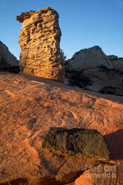 Photograph - Hoodoos At Sunset by Fred Stearns