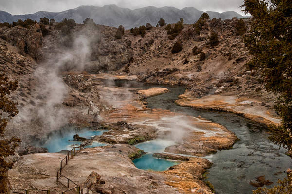 Geologic Photograph - Hot Creek by Cat Connor