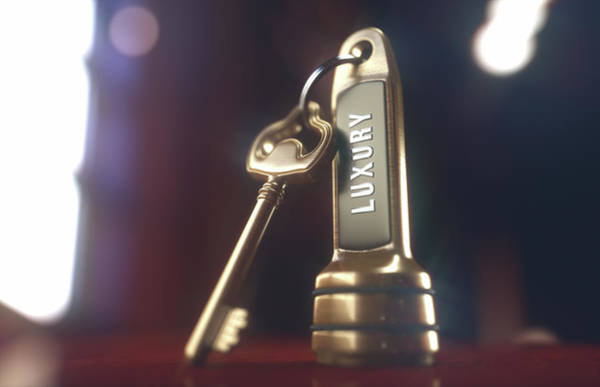 Wall Art - Photograph - Hotel Key On Fob by Ktsdesign/science Photo Library
