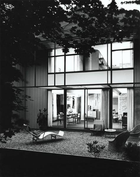 Landscape Architecture Photograph - House Designed By Carl Koch by Pedro E. Guerrero