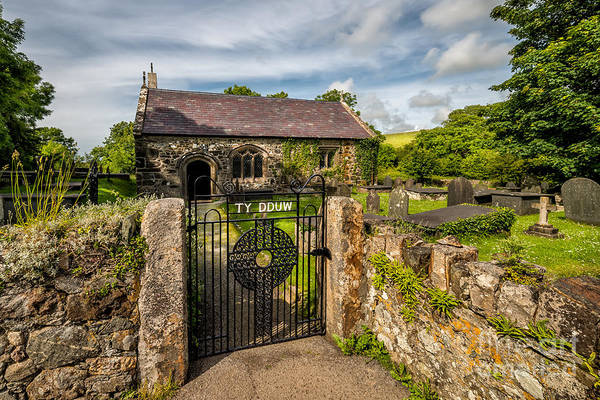 Cemetaries Wall Art - Photograph - House Of God by Adrian Evans
