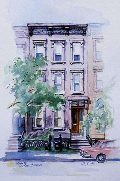 Painting - House On Tenth Street by Nancy Wait