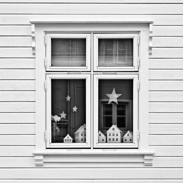 Scandinavian Photograph - Houses And Windows by Dave Bowman