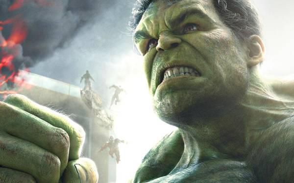 Digital Art - Hulk The Avenger by Movie Poster Prints