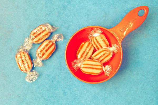 Boil Photograph - Humbug Sweets by Tom Gowanlock