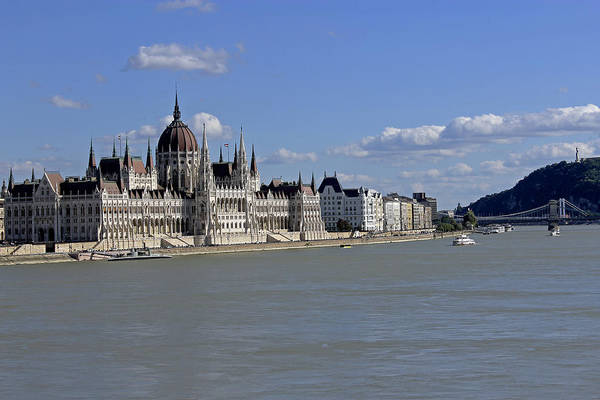Photograph - Hungarian Parliament Building  by Tony Murtagh