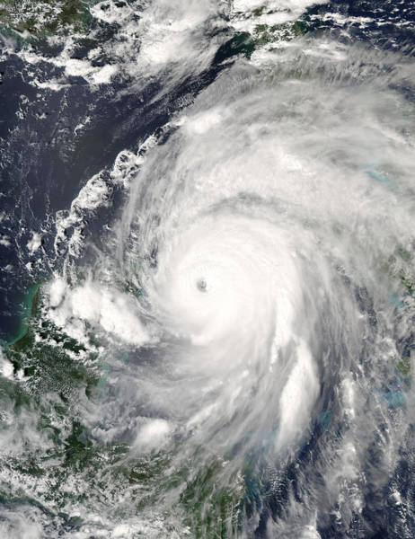 Wall Art - Photograph - Hurricane Ivan by Nasa/science Photo Library