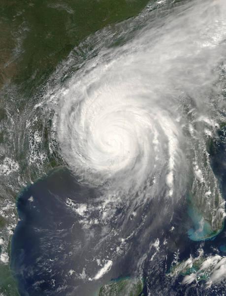 Katrina Wall Art - Photograph - Hurricane Katrina by Nasa/science Photo Library