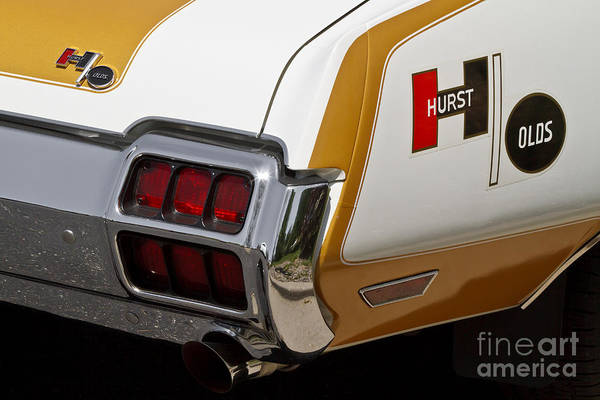 Oldsmobile 442 Wall Art - Photograph - Hurst Olds by Dennis Hedberg