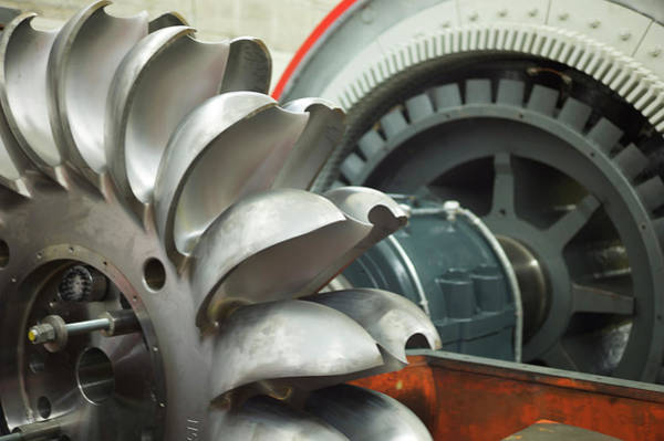 Wall Art - Photograph - Hydroelectric Power Turbine by Ibm Research