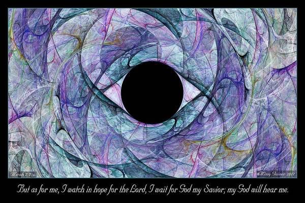 Digital Art - I Watch by Missy Gainer