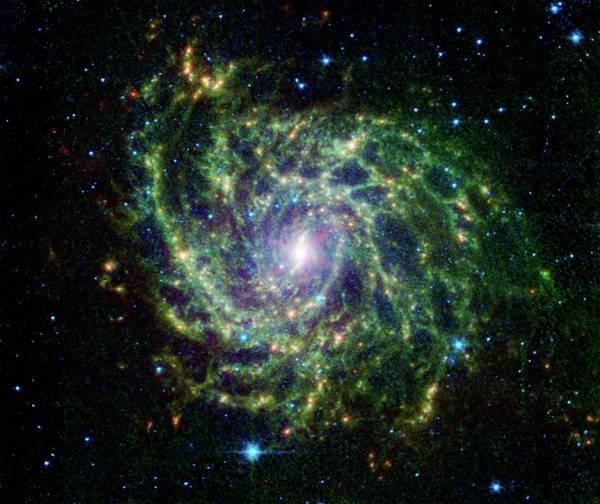 Wall Art - Photograph - Ic 342 Spiral Galaxy by Nasa/jpl-caltech/j. Turner (ucla)/science Photo Library