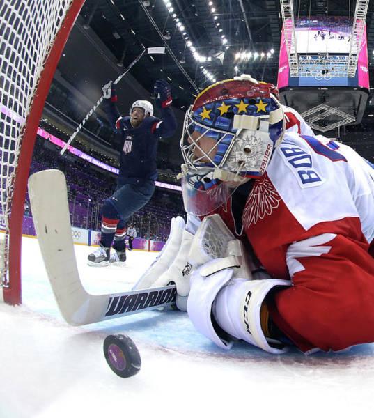 Team Sport Photograph - Ice Hockey - Winter Olympics Day 8 - by Bruce Bennett