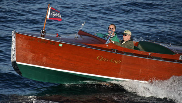 Photograph - Iconic Chris Craft by Steven Lapkin