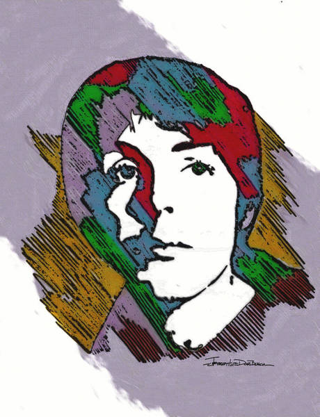 Frontman Wall Art - Painting - Icons - Paul Mccartney by Jerrett Dornbusch