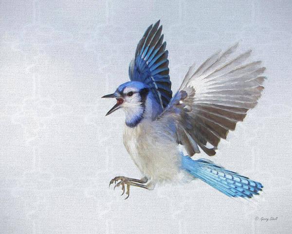 Digital Art - I'll Huff And I'll Puff by Gerry Sibell