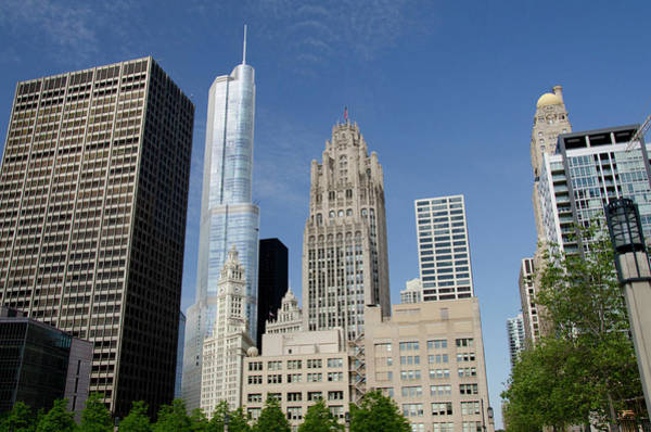 Mile High City Photograph - Illinois, Chicago by Cindy Miller Hopkins