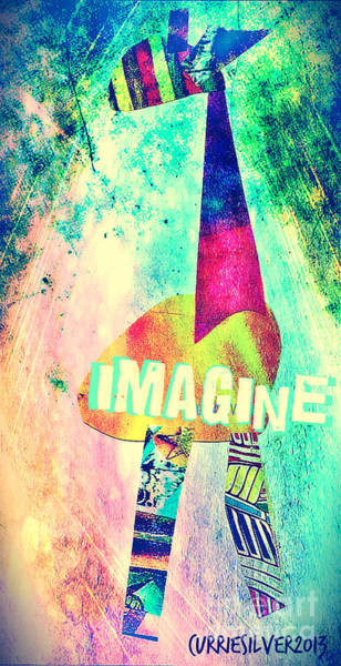 Imagine Art Print by Currie Silver