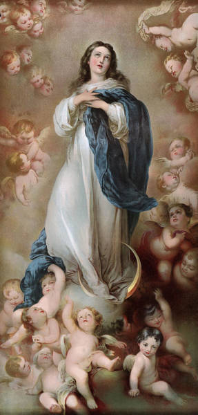 Wall Art - Painting - Immaculate Conception by Granger