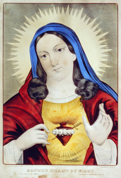 Wall Art - Photograph - Immaculate Heart Of Mary by Granger