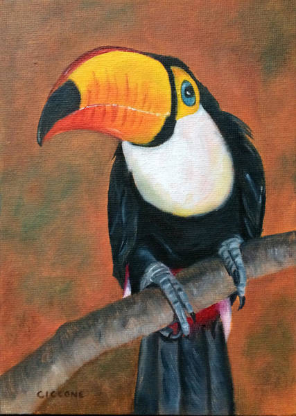 Painting - Impressive Beak by Jill Ciccone Pike